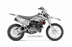 yamaha ttr110 dirt bike graphics bone collector white With honda 110 dirt bike