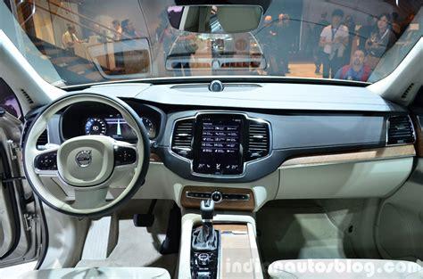 volvo jeep 2015 2015 volvo xc90 interior at the 2014 paris motor show