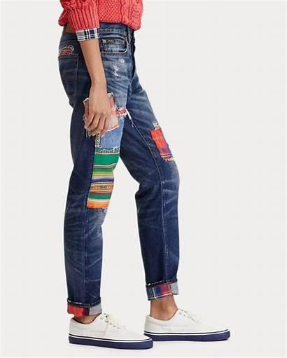 Boyfriend Lauren Ralph Avery Polo Jeans Jean