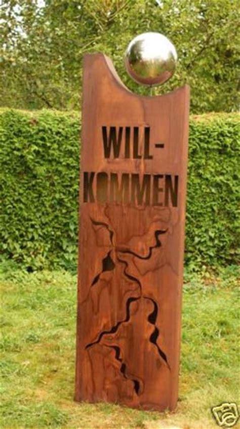 Gartendeko Willkommen by 03 Rost S 228 Ule Willkommen 171 Gartendeko Gartenideen