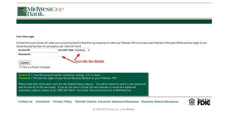 Midwestone Bank Online Banking Login