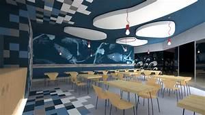 Foto: Restaurante Comida Rapida Perspectiva Interior de Olab #571693 Habitissimo