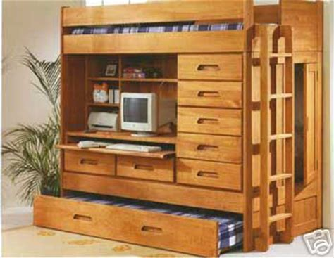 bunk beds with built in desk and drawers all in one loft twin bunk bed bunk beds other files