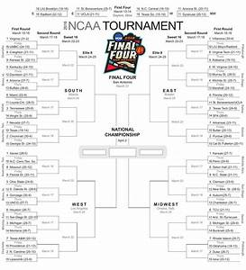 NCAA Tournament Clemson Plays New Mexico State On Friday Printable Bracket Sports