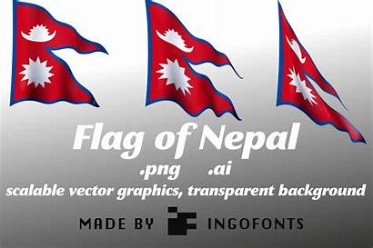Nepal Flag Graphic Creative Creativefabrica Dari Artikel