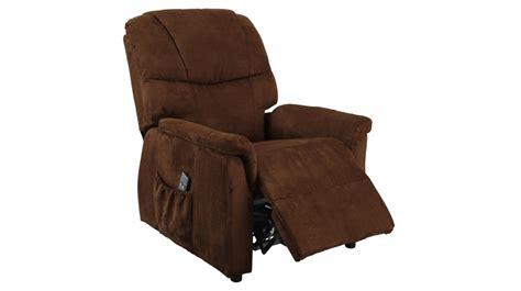 fauteuil releveur 233 lectrique microfibre chocolat