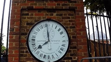 Greenwich Mean Time / Shepherd 24 Hour Wall Clock