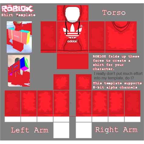 This library also contains many of the custom made cosmetics which make your character look good. redAdidas Hoodie - Roblox