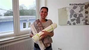 Vliestapete Tapezieren Untergrund : vliestapete tapezieren tapete einfach anbringen youtube ~ Watch28wear.com Haus und Dekorationen