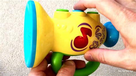 kid happy toy trumpet