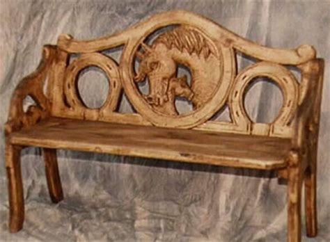 wood carving bench carved bench  woodworking