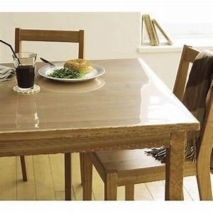 Nappe Pour Table : nappe transparente pour table en bois ~ Teatrodelosmanantiales.com Idées de Décoration
