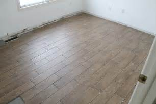 tips for achieving realistic faux wood tile chris loves