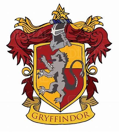 Gryffindor Crest Potter Harry Printables Hogwarts Printable