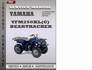 Yamaha Yfm250xl C  Beartracker Factory Service Repair
