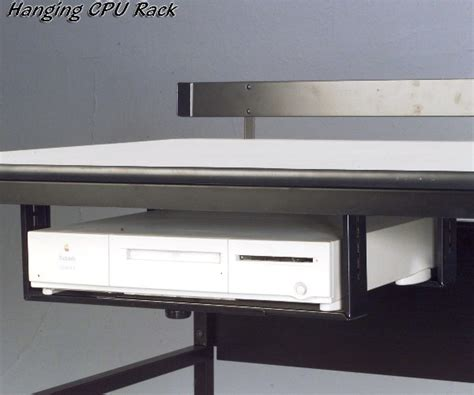 under desk rack mount under desk cpu rack cpu holder balt moorco 33550 tx