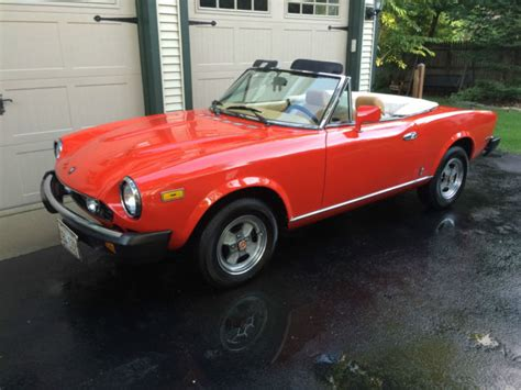 1982 Fiat Spider 2000 by 1982 Fiat Spider 2000 Convertible For Sale In Suburban