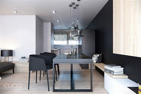 black dining room interior design ideas