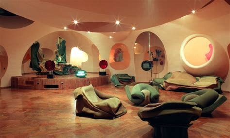 the palais bulles of cardin by architect antti lovag architecture interior design