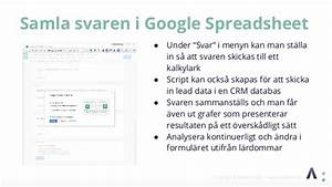Automatisera F U00f6rs U00e4ljningsprocessen Med Google Forms Avazent