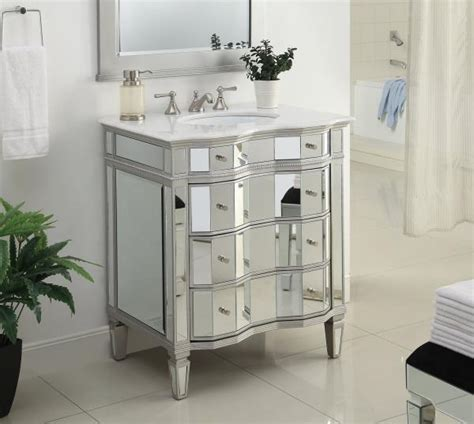 mirrored bathroom vanity cabinet 30 all mirrored bathroom sink vanity cabinet model bwv 025 30 ebay