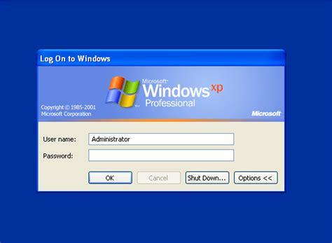 Windows Xp Logon Screen By Jan2017