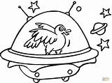 Coloring Space Ship Pages Spaceship Duck Spaceships Printable Rocket Blast Drawing Supercoloring Comments Clipartmag Super sketch template