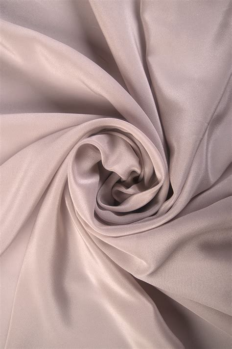Krepa jedwabna kolory! Color Róż z kropla szarości