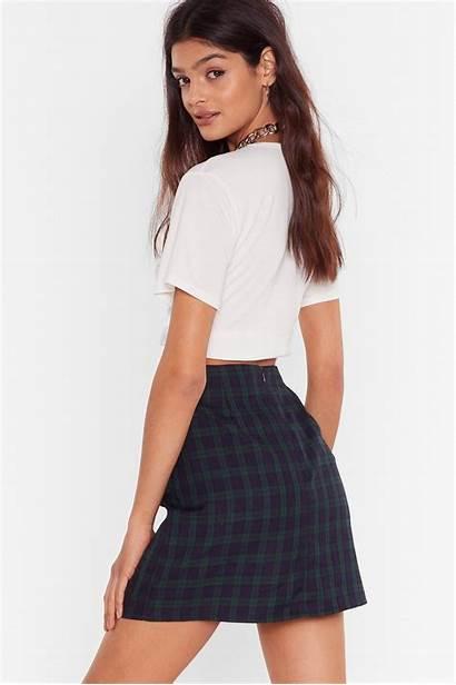 Skirt Mini Aesthetic Pose Nastygal