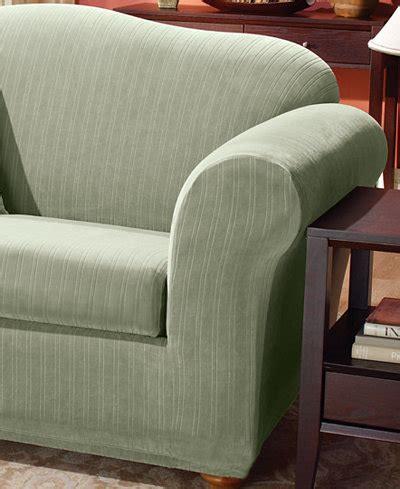 macys sofa covers sure fit stretch pinstripe 2 t cushion sofa