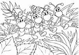 Coloring Ant Pages Outline Drawing Printable Clipart Ants Clip Marching Library sketch template