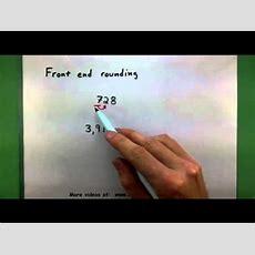 Basic Math  Front End Rounding Youtube