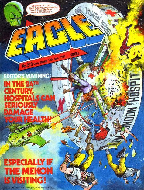 STARLOGGED - GEEK MEDIA AGAIN: 1987: EAGLE JUNE COVER GALLERY