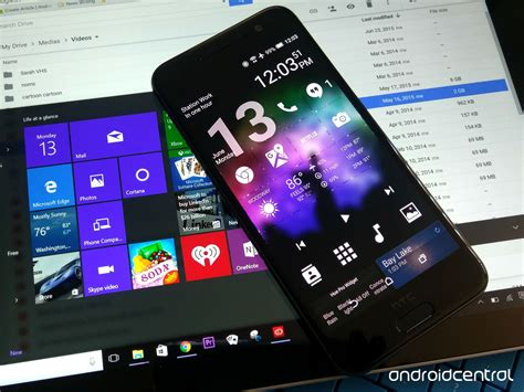 on android how to give your android phone a microsoft makeover
