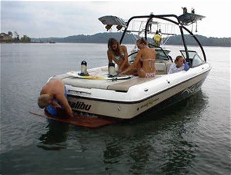 Malibu Boats Saltwater Package by Malibu Releases 2002 Model Line Boats
