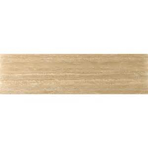 shop emser dore select travertine floor and wall tile common 6 in x 24 in actual 6 in x 24