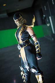 Mortal Kombat Scorpion Costume Female