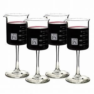 Laboratory Beaker Wine Glasses - The Green Head