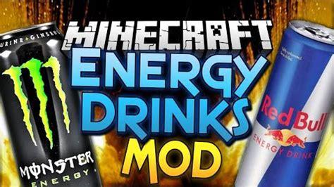 energy drinks mod  minecraftnet
