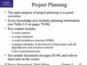 Chap03 The Project Management Process Groups