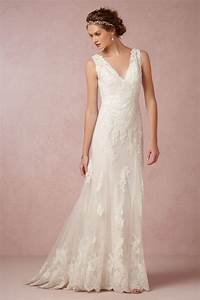 Can39t get enough of these beautiful bhldn wedding dresses for Robe romantique dentelle