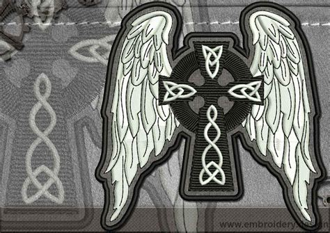 Biker Patch Celtic Cross