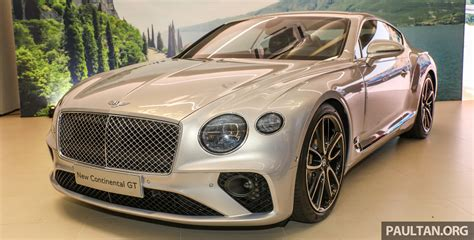2018 Bentley Continental Gt Launched Rm1 9mil Est Paul