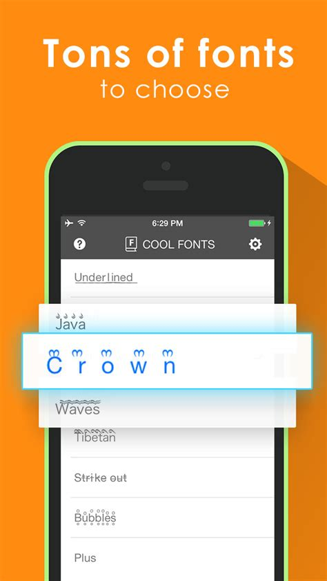 fonts for iphone cool fonts keyboard for ios 8 better fonts and cool text