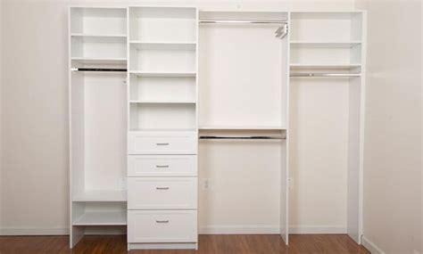Closet Components by Closet Components Easy Pre Designed Diy Closets Cabinet