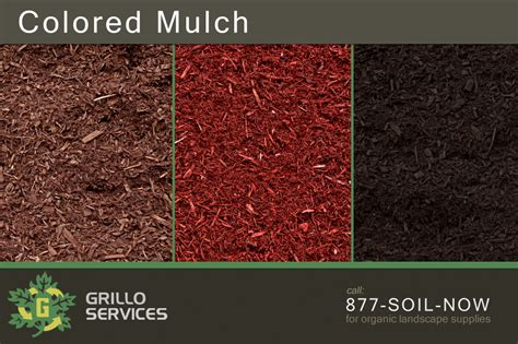 what color mulch is best brown black red mulch in ct grillo services