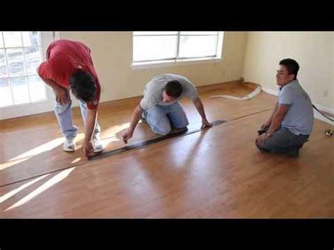 installing  vinyl floor wood pattern youtube