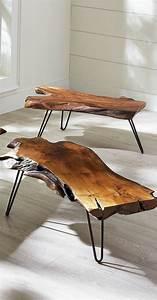 Meuble Bois Brut : les meubles en bois brut sont une jolie touche nature pour l 39 int rieur ~ Teatrodelosmanantiales.com Idées de Décoration