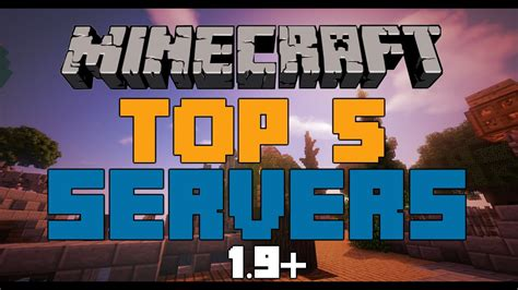 top  minecraft servers   time   hd