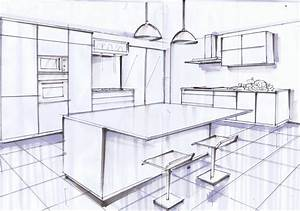dessiner sa cuisine en 3d stunning idees de decoration With wonderful dessin de maison en 3d 3 comment dessiner une ville en 3d